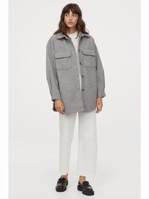 Куртка сіра | 5690464