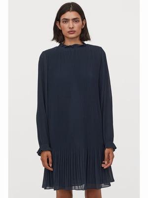 Платье синее   5690537