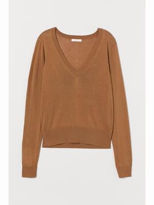 Пуловер коричневий | 5690539