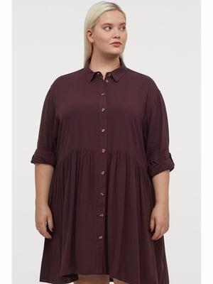 Платье бордовое | 5690551