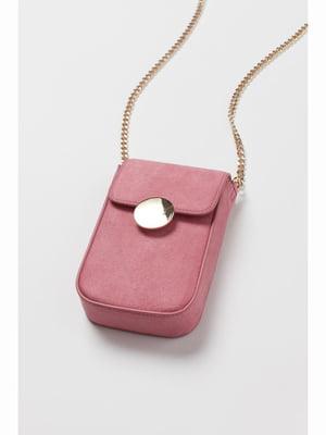 Сумка для смартфона рожева | 5690582