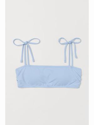 Бюстгальтер купальний блакитний | 5690643