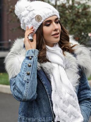Комплект: шапка і шарф | 5562923