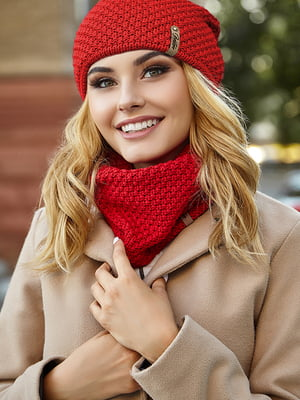 Комплект: шапка і шарф | 5562935