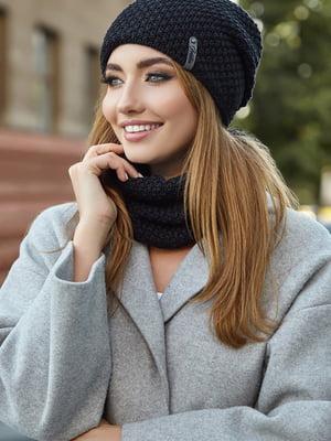 Комплект: шапка і шарф | 5562938