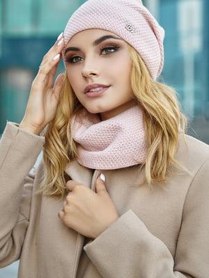Комплект: шапка і шарф | 5562995