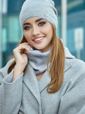 Комплект: шапка і шарф | 5562996