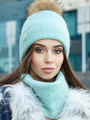 Комплект: шапка і шарф | 5563076