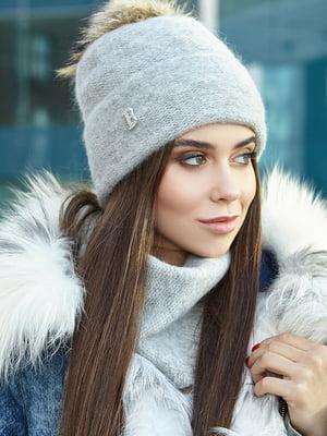 Комплект: шапка і шарф | 5563078