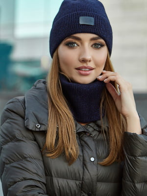 Комплект: шапка і шарф | 5563089