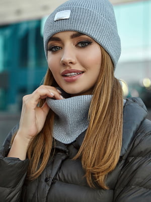 Комплект: шапка і шарф | 5563091