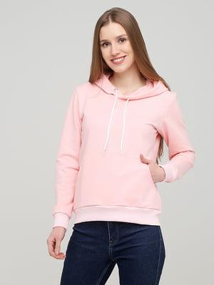 Худи нежно-розового цвета | 5690867