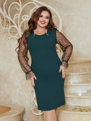 Сукня темно-зелена   5690981