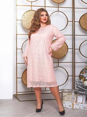 Платье пудрового цвета   5691022