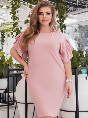 Сукня пудрового кольору | 5691038