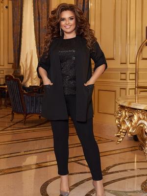 Костюм: блуза, кардиган и брюки   5691115