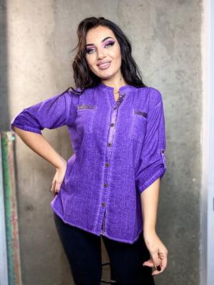 Сорочка фіолетова  | 5691152