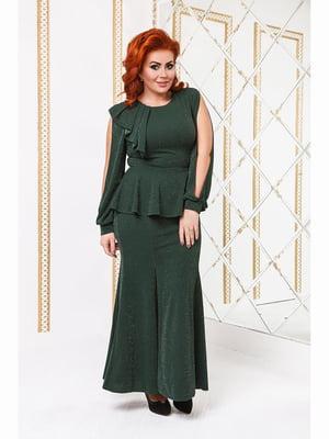 Сукня темно-зелена | 5691168