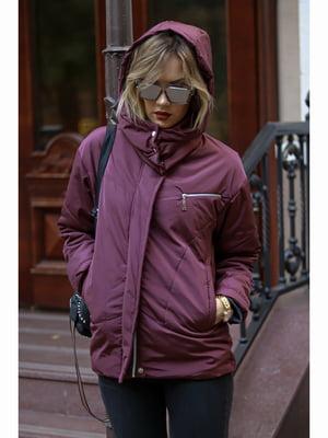 Куртка фіолетова | 5691197