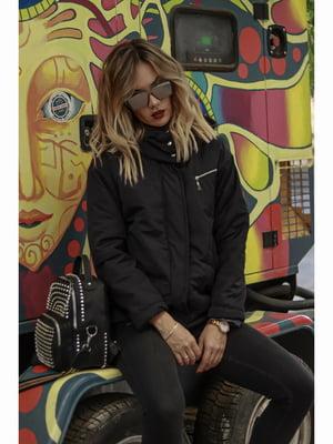 Куртка чорна | 5691198