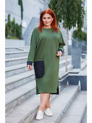 Сукня кольору хакі | 5691261