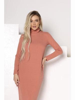 Сукня персикового кольору   5691285