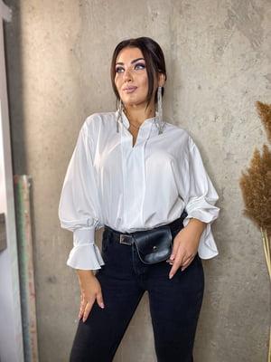 Блуза молочного кольору | 5691322