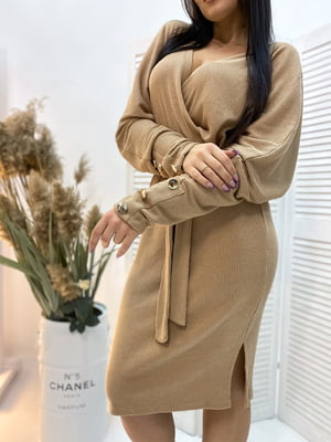 Сукня бежева | 5691330