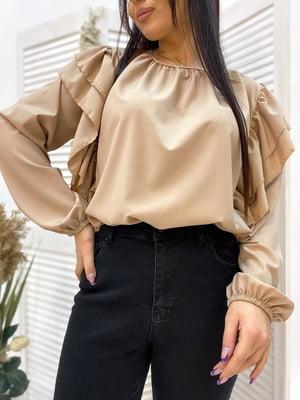 Блуза бежева | 5691338