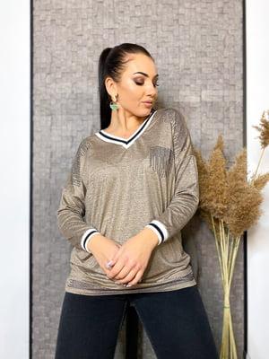 Пуловер бежевий | 5691359