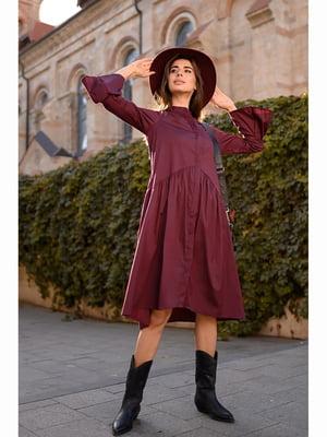 Сукня бордова | 5691364