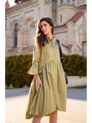 Платье цвета хаки | 5691365