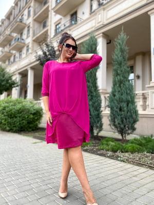 Сукня малинового кольору | 5691383