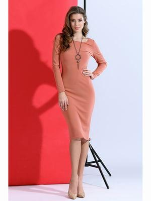 Сукня персикового кольору | 5691387