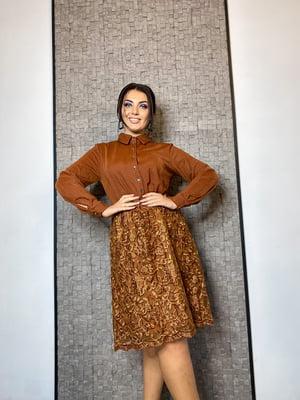 Сукня гірчичного кольору   5691418