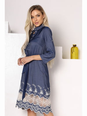 Сукня темно-синя   | 5691452