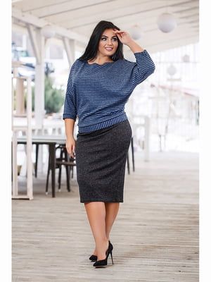 Костюм: блуза і спідниця | 5691460
