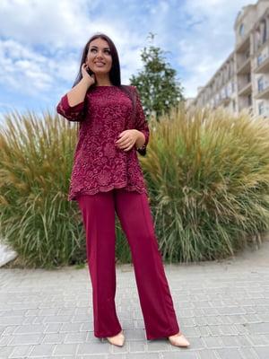 Костюм: блуза и брюки | 5691475