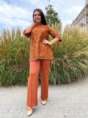 Костюм: блуза і штани | 5691476