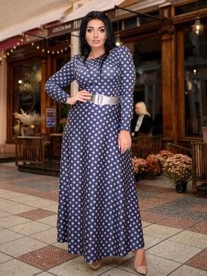 Сукня синя у горох | 5691479