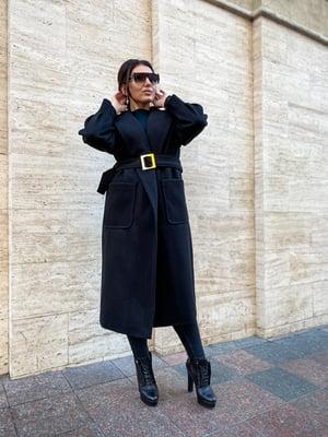 Пальто чорне | 5691503