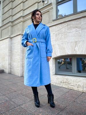 Пальто блакитне | 5691505