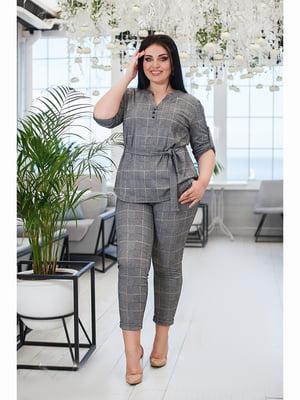 Костюм: блуза і штани | 5691507