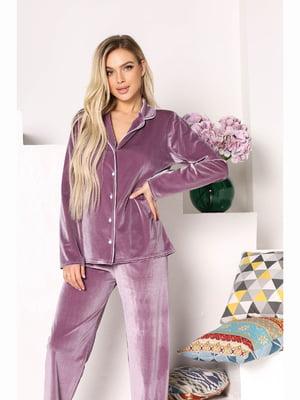 Пижама: рубашка и брюки | 5691510