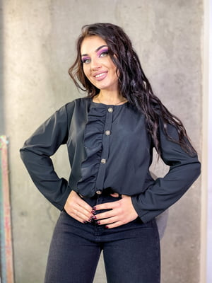 Блуза чорна  | 5691556