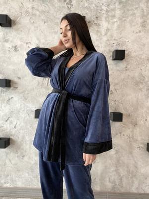 Піжама: майка, штани і халат | 5691564