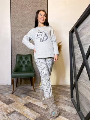 Пижама: лонгслив и брюки | 5691570