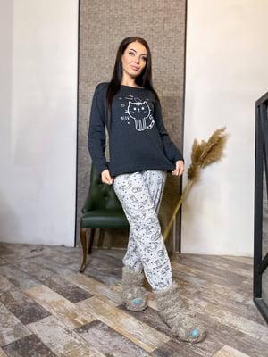 Пижама: лонгслив и брюки | 5691571