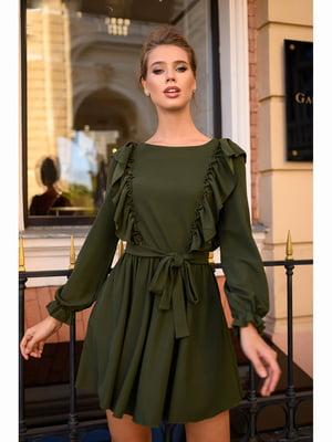 Платье цвета хаки | 5691581