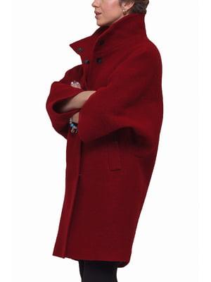 Пальто красное   5691633